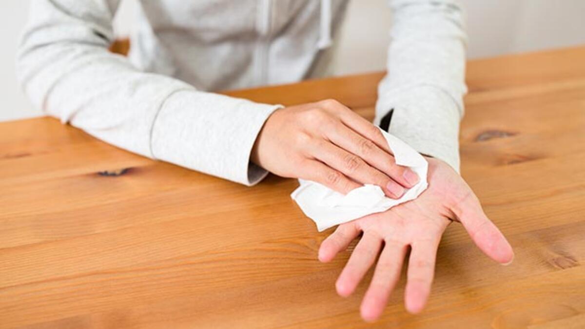 El terlemesi nasıl geçer? - El terlemesine doğal tedavi yöntemleri - El ve  Ayak Bakımı