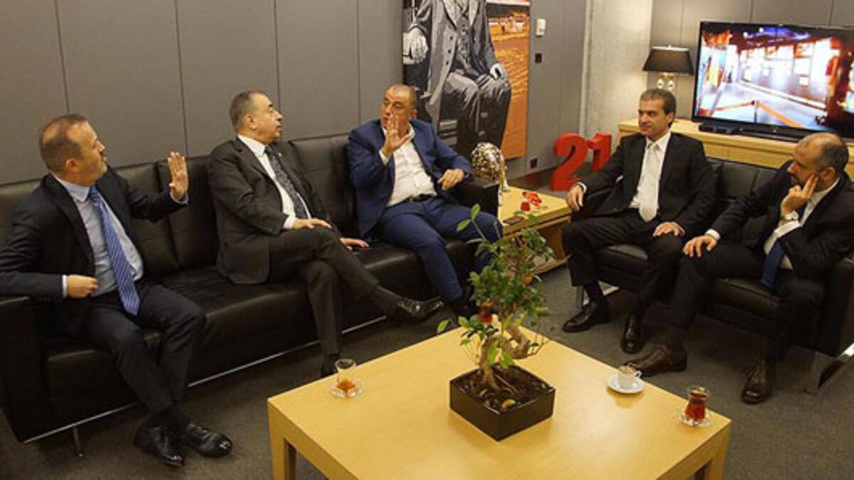 Mustafa Cengiz ile Fatih Terim bir araya geldi! - Galatasaray - Spor  Haberleri