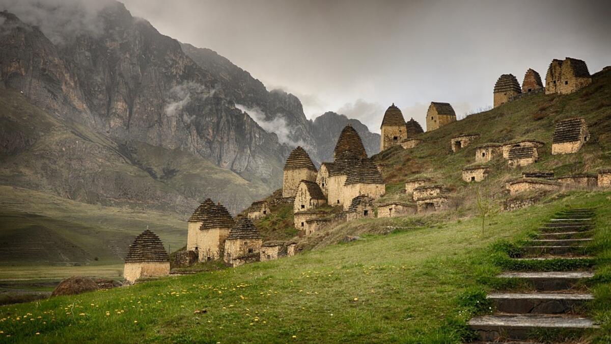 Rusya'nın en gizemli yeri: Ölüler kenti Dargavs - Tatil Seyahat ...