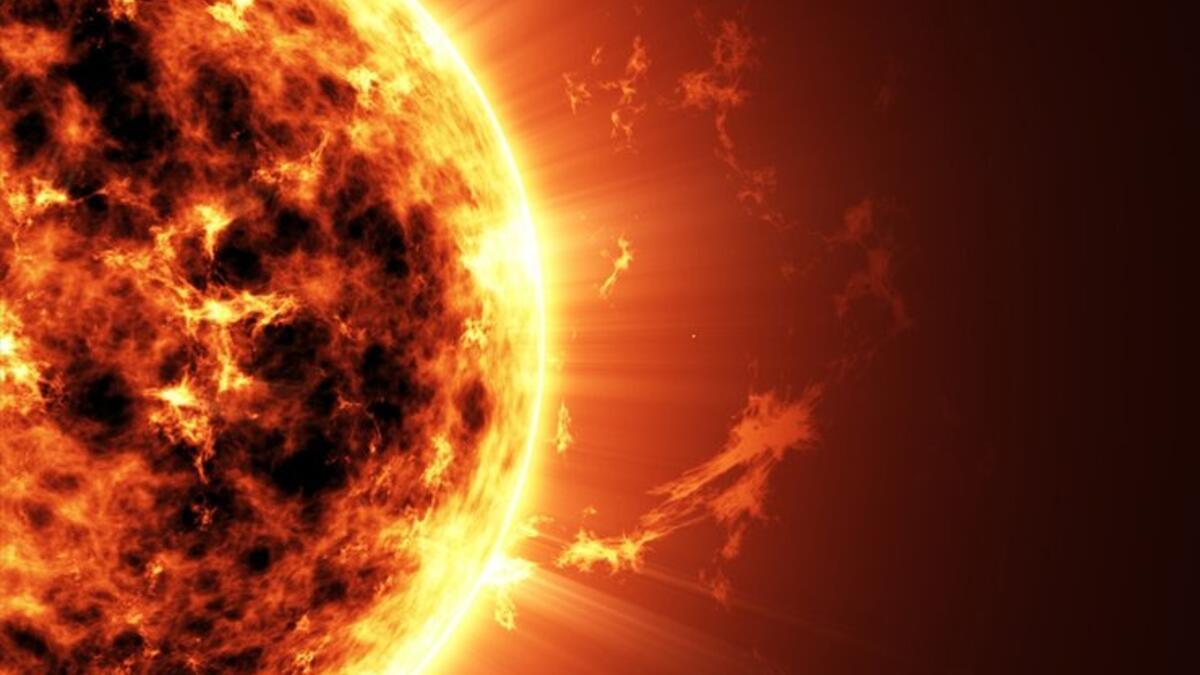 Güneş'i hiç böyle görmediniz! Bugüne kadar ki en net fotoğrafı...