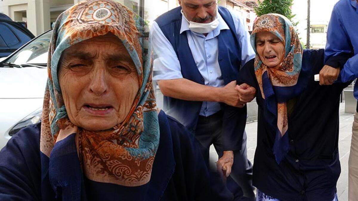 Yürek yakan olay! 87 yaşındaki annesini dövüp sokağa attı - Son ...