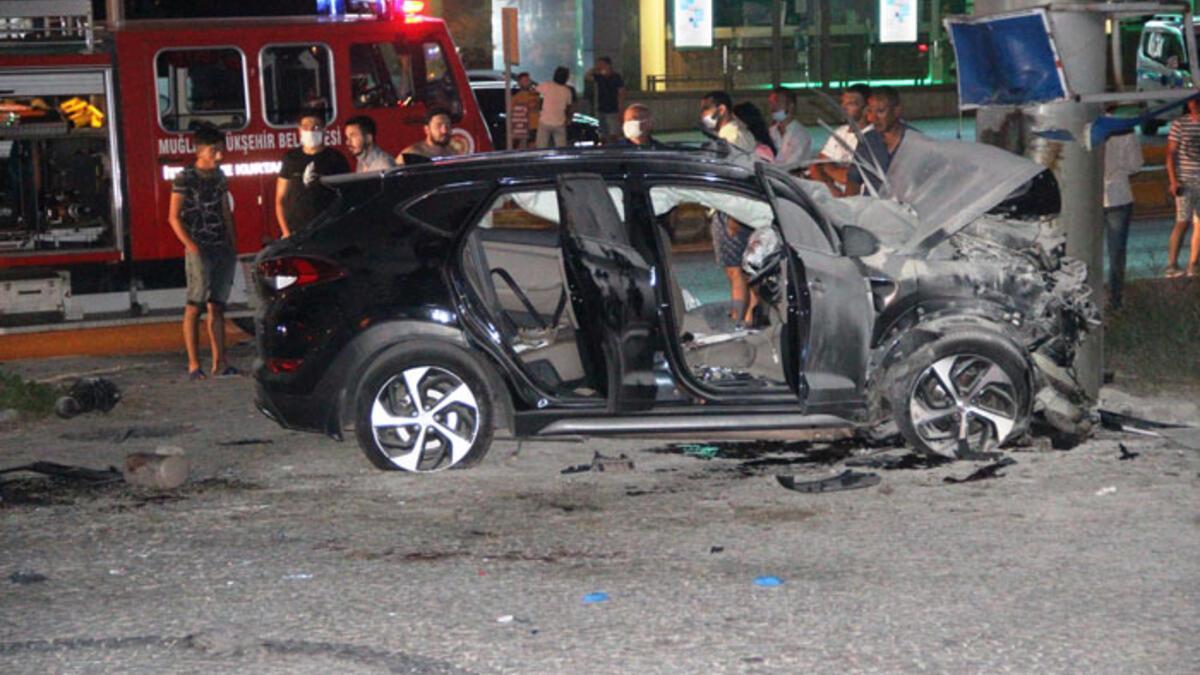 2 gencin öldüğü kaza güvenlik kamerasına böyle yansıdı - Haberler ...
