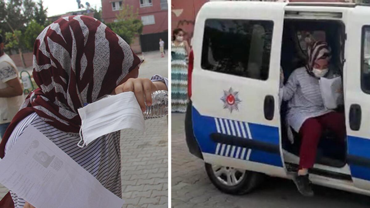 Kimlikler evde kalınca... KPSS'ye polis yetiştirdi - Son Dakika Milliyet