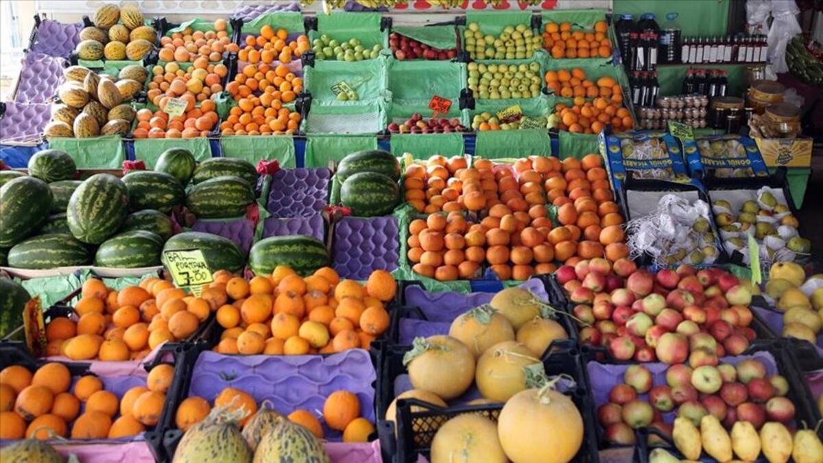 Yaş meyve sebze ihracatına üç ilin katkısı büyük oldu