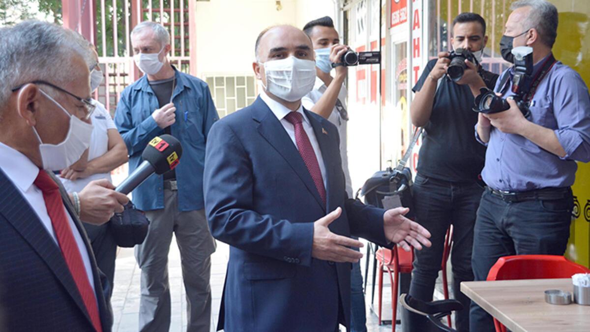 Kayseri Valisi Günaydın: Koronavirüslü bazı kişiler filyasyon ekiplerine isim vermekten kaçınıyorlar