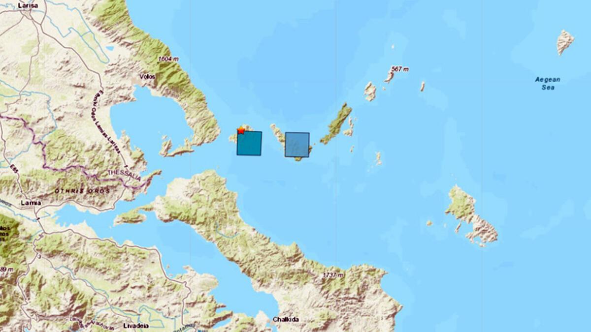 Yunanistan açıklarında deprem