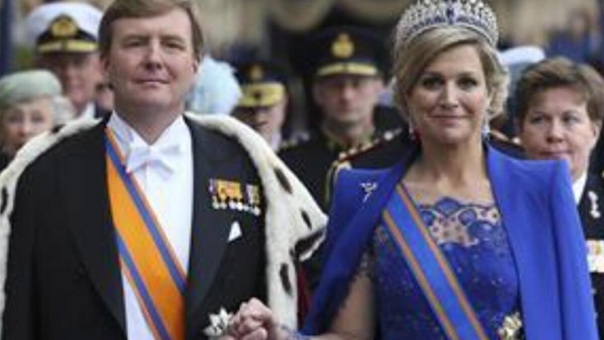 Hollanda'da kral ve kraliçenin tatile çıkması kriz yarattı!