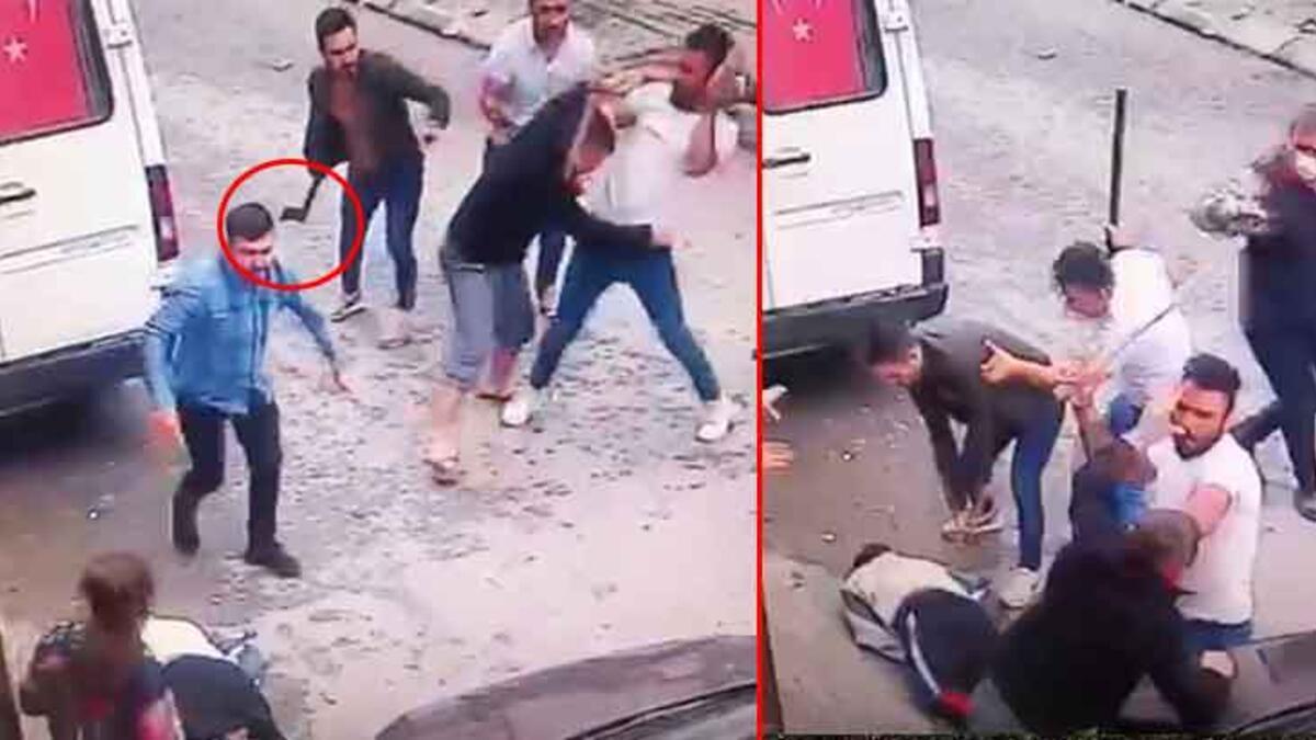 İstanbul'da dehşet! Komşunun kafasına baltayla vurdu