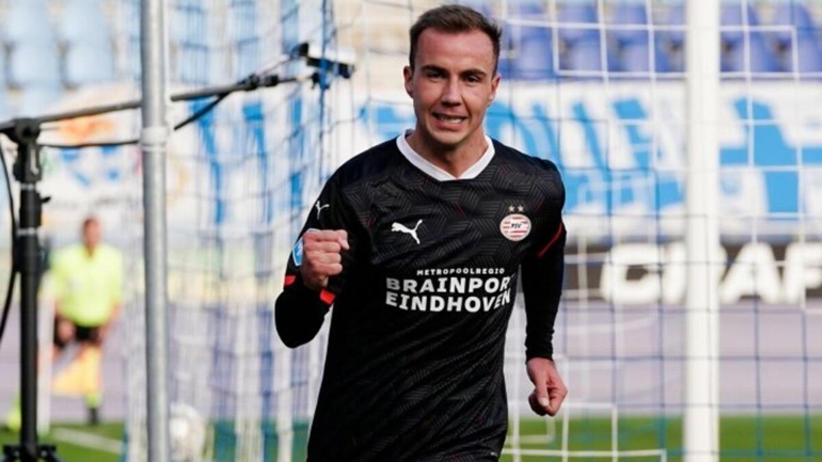 Götze, PSV'de ilk golünü attı!