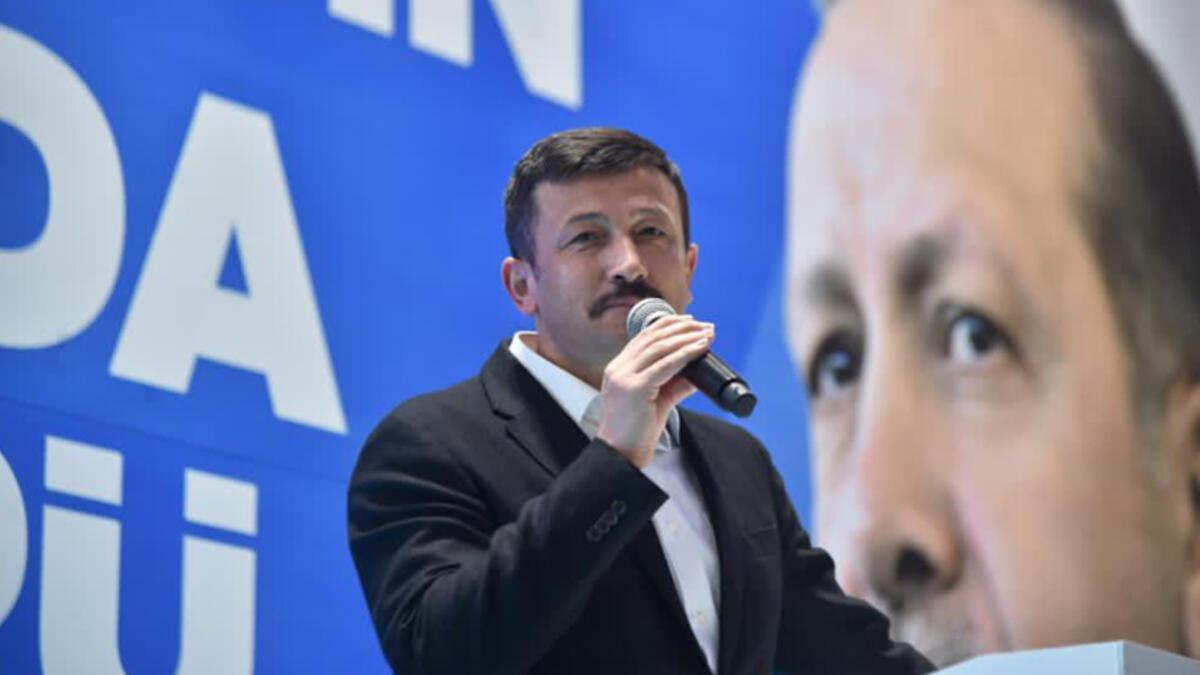 AK Partili Hamza Dağ: Hiç aklınıza gelmiyor mu?