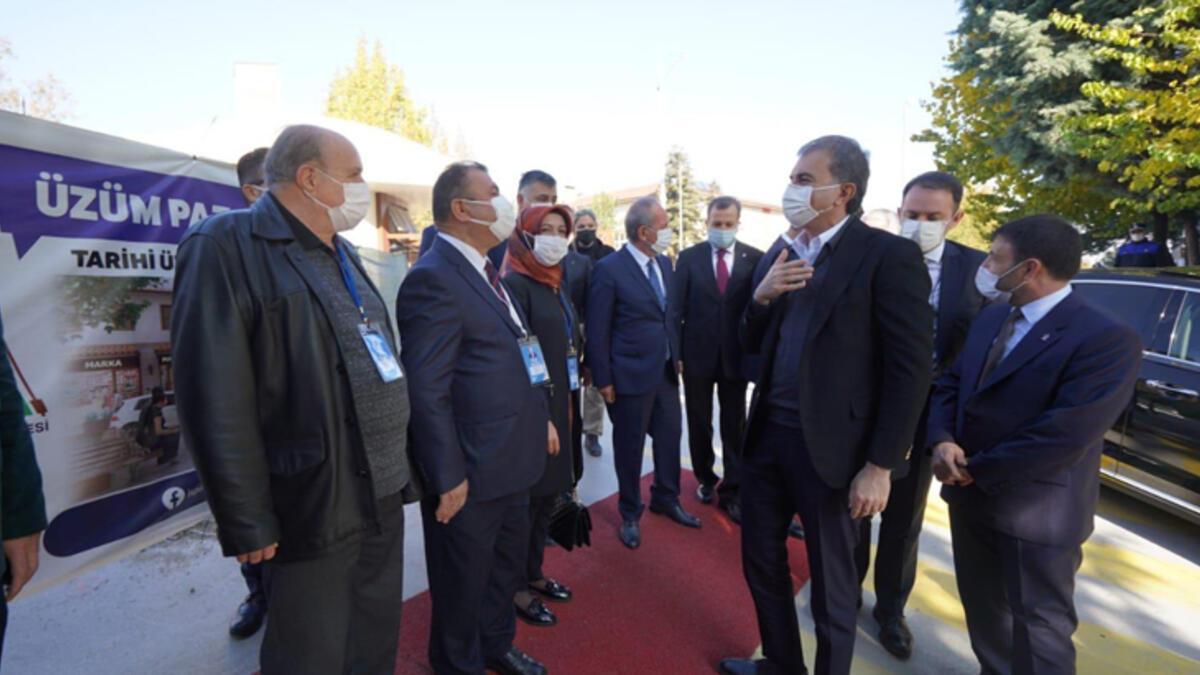 AK Parti Sözcüsü Çelik Isparta Belediyesini ziyaret etti