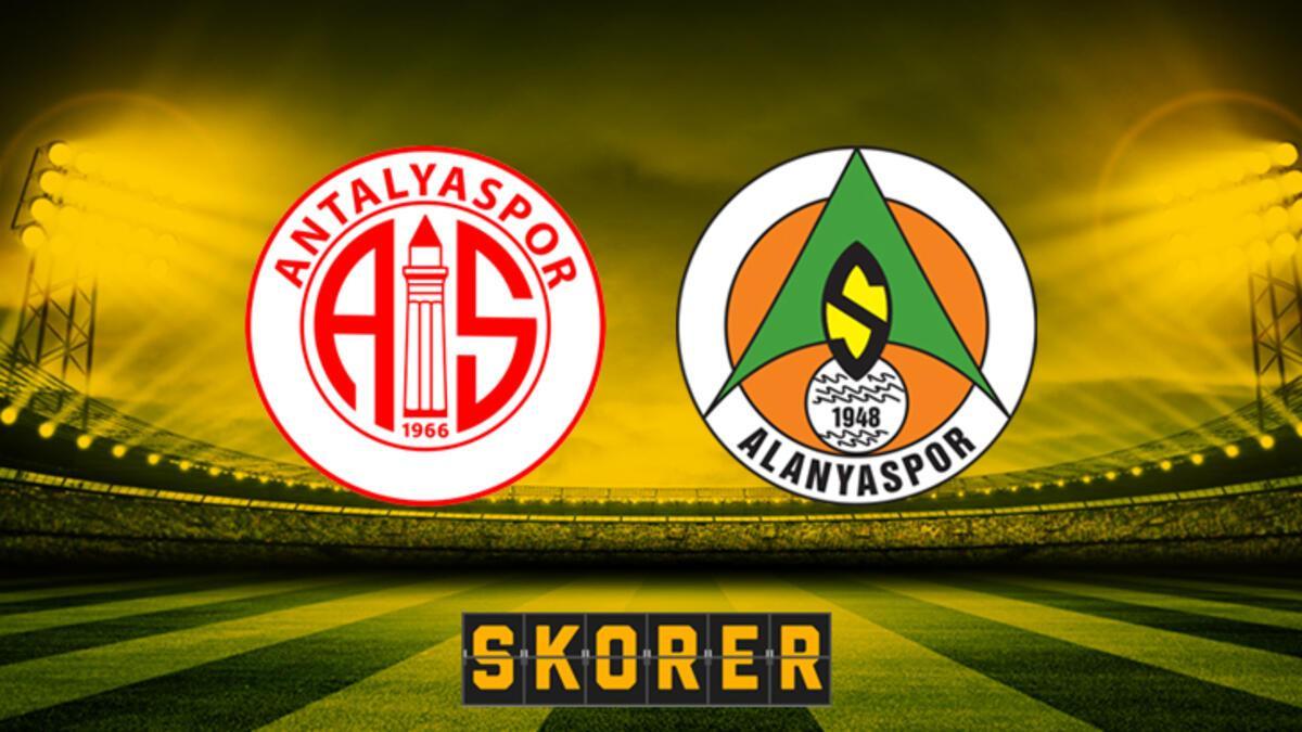 Antalyaspor - Alanyaspor: 2-0