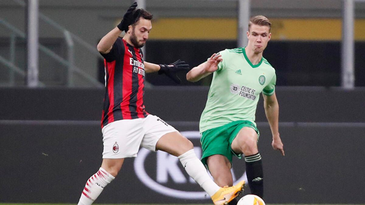 Hakan Çalhanoğlu yazdı, Milan Celtic'i devirdi! - Futbol - Spor Haberleri