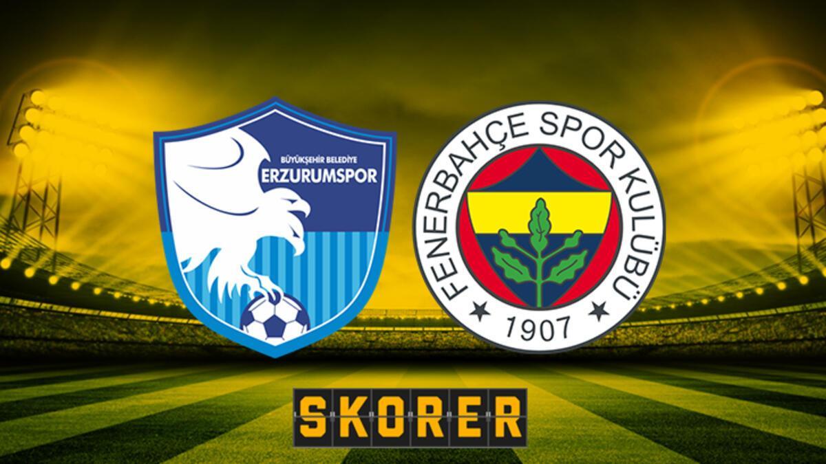 Fenerbahçe zorlu Erzurum deplasmanında! Erzurumspor-Fenerbahçe maçı ne  zaman saat kaçta hangi kanalda? - Milliyet - Haber Ofisi