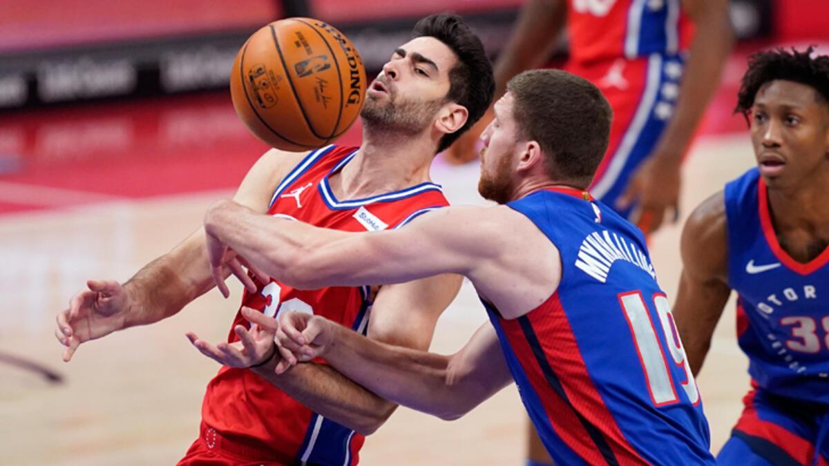 NBA'de 76ers, Pistons deplasmanında kazandı - Basketbol Spor Haberleri