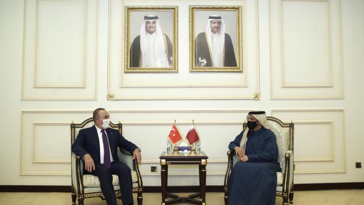 Katar Dışişleri Bakanı Al Sani: Türkiye ve Katar arasındaki ilişkiler çok özel ve önemli