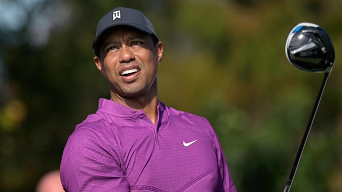 Son dakika | Ünlü golfçü Tiger Woods trafik kazası geçirdi