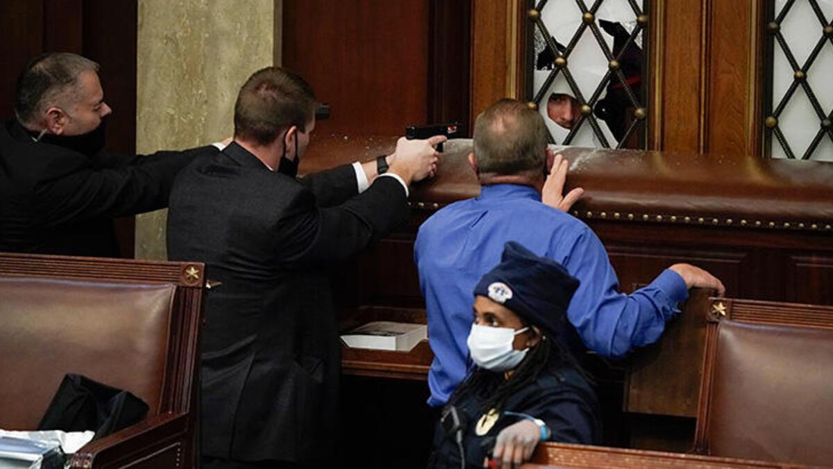 ABD Kongre baskınının görüşüldüğü oturumda yetkililer birbirini suçladı
