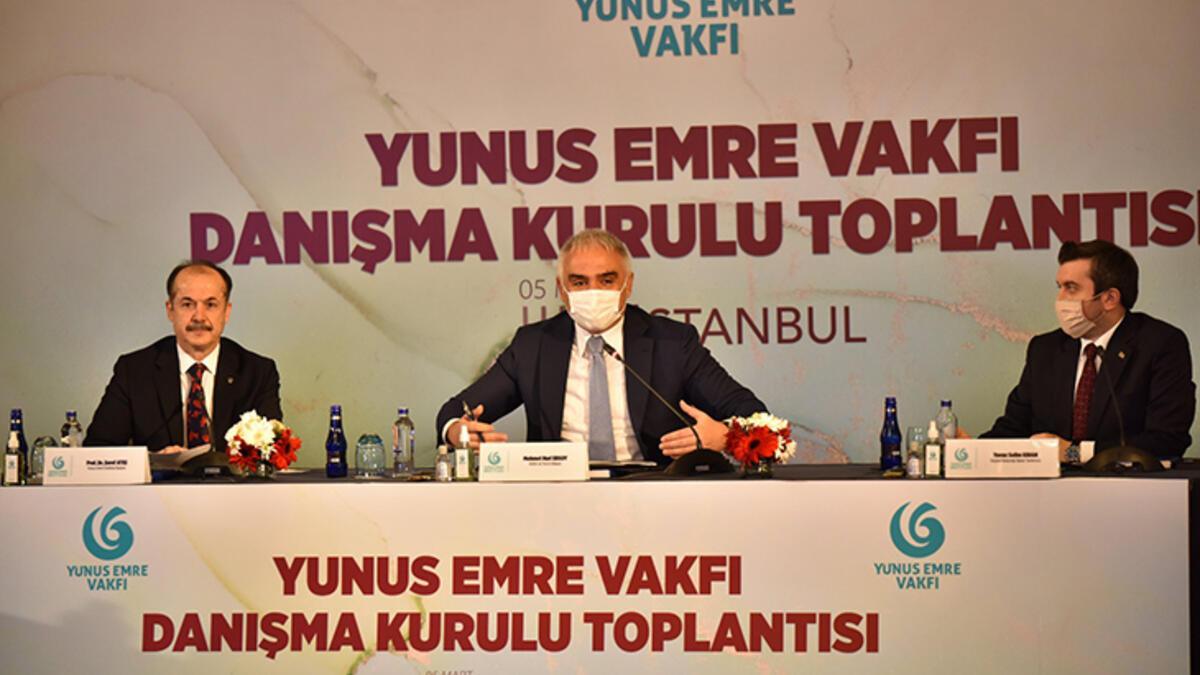 Yunus Emre Vakfı Danışma Kurulu Toplantısı İstanbul'da gerçekleşti