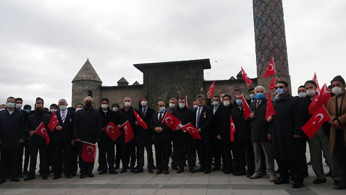 Erzurum'daki STK'lardan emekli amirallerin bildirisine tepki - Güncel  Haberler Milliyet