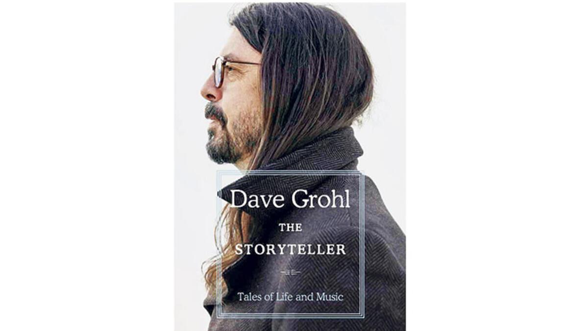David Grohl'dan anı kitabı