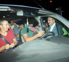 İçişleri Bakanı Soylu trafik denetimine katıldı