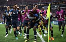 Fransa - Hırvatistan maçından fotoğraflar