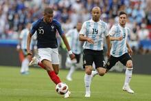 Fransa - Arjantin maçından fotoğraflar