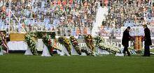 Enke'nin cenaze töreni yapıldı