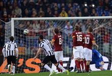 Roma - Juventus: 1-1
