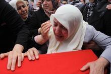 Mavi Marmara'da yaşamını kaybedenler için cenaze töreni düzenlendi