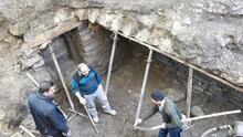 Kepçe operatörü yeraltı şehrini ortaya çıkardı