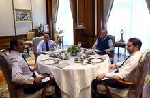 Son dakika: Cumhurbaşkanı Erdoğan, Katar Emiri ile görüştü