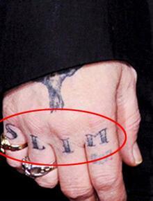 Aşk bitti, dövmeler gitti!