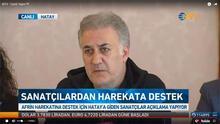 Sanatçılardan Mehmetçik'e destek! Sınıra gittiler...