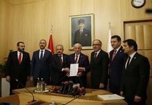 İttifak ile ilgili düzenleme Meclis'e sunuldu