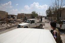Suriye sınırında ikinci cephe açıldı! Tanklar Çobanbey'e girdi...