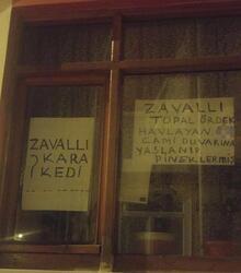 Miras yüzünden küsen kardeşler 'duvar yazıları' üzerinden tartışıyor