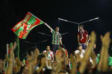 Karşıyaka şampiyonluğu böyle kutladı