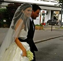 Böyle evlendiler