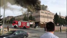 Tekirdağ'da tekstil fabrikasında patlama! Yaralılar var...