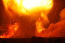 Son dakika... Nükleer patlama gibi! İnanılmaz fotoğraflar geldi