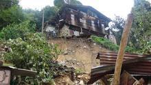 Rize'de sel ve heyelanın ardından 3 gün sonra ulaşılan köy yerle bir olmuş