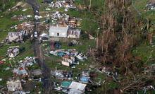 Son dakika: Kasırgaların vurduğu ABD'de uzaydan gelen görüntüler şoke etti
