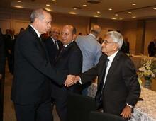 Cumhurbaşkanı Erdoğan 10 Muharrem İftarı'na katıldı