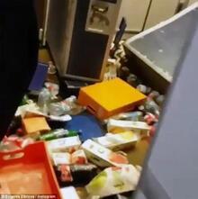Yolcu uçağı inişe 40 dakika kala cehennemi yaşadı!