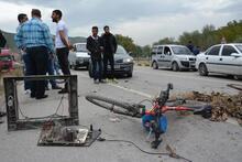 Karabük'te köylülerden yol kapatma eylemi