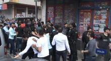 Sultangazi'de öldürülen gencin cenazesinde gerginlik