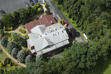 FETÖ'nün malikanesinin son görüntüleri! Görüntüler helikopterle çekildi!