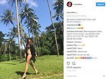 Cansu Dere'den bikinili paylaşım